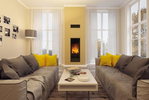 Krbový modul Kingfire integrovaný do komínového systému bude ozdobou každého domu