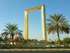V Dubaji otevřeli nový unikát – pozlacený vyhlídkový rám