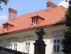 Dolní zámek v Teplicích nad Metují má díky nové střeše Bramac opět historickou podobu
