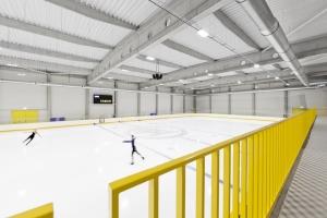 Nový zimní stadion Škoda Icerink