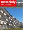 Materiály pro stavbu 1/2018