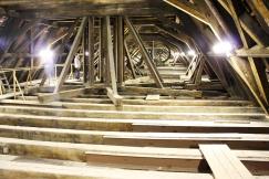 Obr. 11–13: Krov Týnského chrámu v Praze