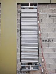 Obr. 5, 6: Instalace tepelného zásobníku