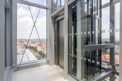Výtah s nejdelší prosklenou šachtou