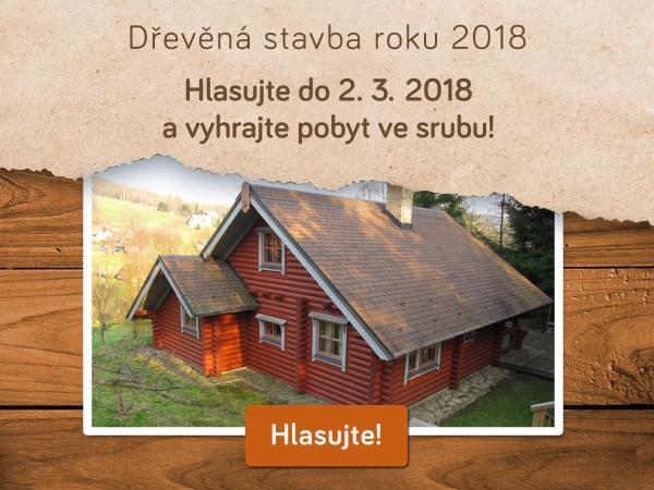 Hlasujte v anketě Dřevěná stavba roku 2018