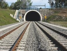 Budějovice a 4. železniční koridor spojí v roce 2025 dva tunely