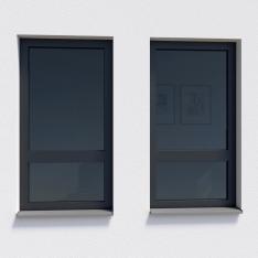 Okna s profily VEKA Artline 82