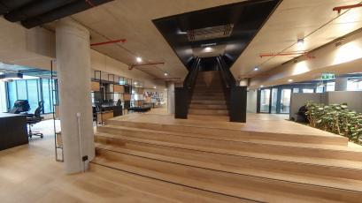 Architektonický návrh – Atelier YUAR za návrh kanceláří MSD, Praha 6