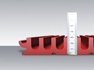 Žlab MEA PG 1500 EVO s výškou 30 mm pro odvodnění parkovišť, dílen, garáží a nástupišť