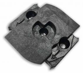 Rotační termoplastový zámek