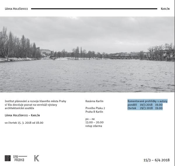 Výstava Lávka Holešovice–Karlín