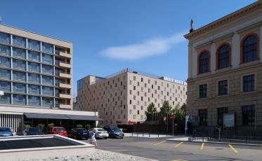 Garáže v centru Brna (Architekti Hrůša & spol)