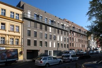 Bytový dům v Koněvově ulici v Praze (A.LT Architekti)