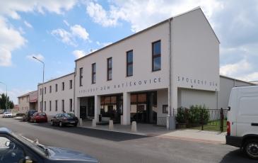 Spolkový dům v Ratíškovicích na Hodonínsku (Létající inženýři)