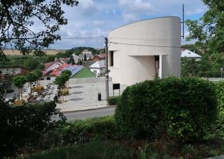 Kostel sv. Václava v Sazovicích na Zlínsku (Marek Štěpán)