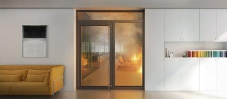 Protipožární a protikouřová ochrana Schüco FireStop