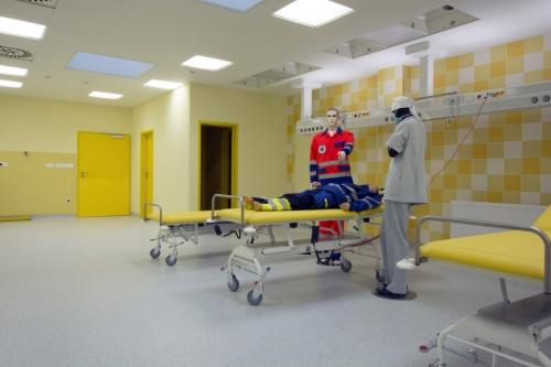 Nemocnice v Třebíči má nový pavilon s podlahovými krytinami Gerflor