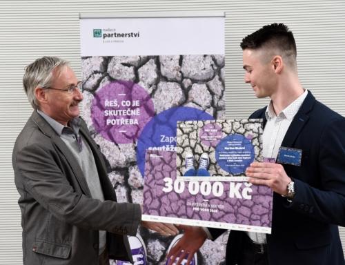 Martin Skala, vítěz soutěže Pro vodu 2018