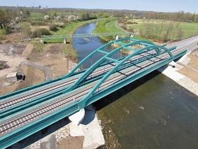 Optimalizace tratí Český Těšín–Dětmarovice, Louky nad Olší–Karviná, most v km 332,420