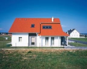 Classic Protector PLUS sluší tradičním domům se sedlovou střechou