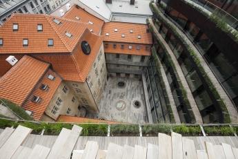 Kategorie Historické stavby, 1. místo – rekonstrukce zastřešení Schönkirchovského paláce v Praze na Novém Městě