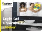 Nízkoprašná lepidla a spárovací malta značky Weber pro spáry bez plísní, řas a fleků