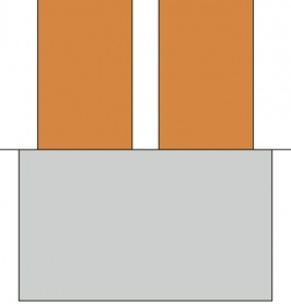 Obr. 5: Schéma společného základu