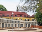 Odvětrávaná fasáda nového pavilonu domova důchodců v Proseči