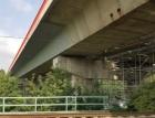 Sanace silničního betonového mostu v Teplicích materiály Knauf Tiefbau Sanierung (TS)