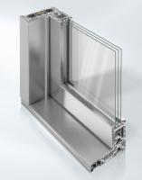 Posuvně-zdvižný systém dveří Schüco LivIngSlide – vrchní hliníková krycí lišta TopAlu