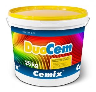 DuoCem se dodává namíchaná v plastových vědrech v balení po 25 kg