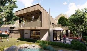 Matyáš Černík, nízkoenergetický dům se zelenou střechou