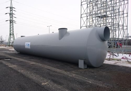 Velkoprůtokový odlučovač ropných látek (ORL) MEA TECH z oceli