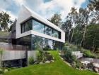 Rezidence v polské Gdyni s posuvnými prosklenými automatickými systémy Schüco