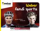 Weber fandí sportu