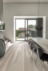 Dřevěná podlaha Kährs, kolekce Lux, dekor Jasan Stream