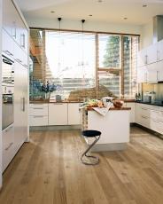 Dřevěná podlaha Kährs, kolekce Lux, dekor Dub Sun