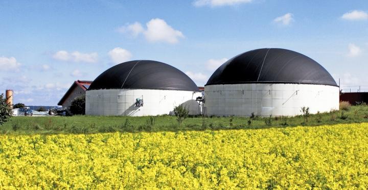 Zařízení na výrobu bioplynu