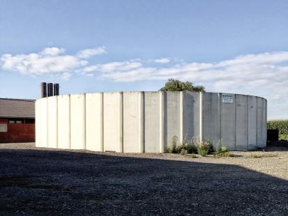 Betonové stavby, které jsou ve styku s kejdou