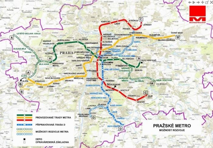 IPR zahájí změnu územního plánu pro metro D na Žižkov