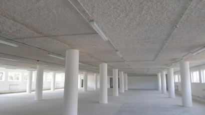 Rekonstrukce objektu 103 v areálu Svit Zlín, Knauf Vermiplaster