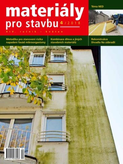 Materiály pro stavbu 4/2018
