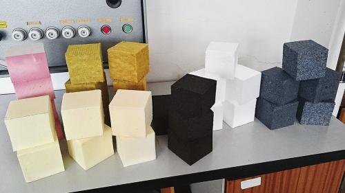 Obr. 1: Přehled vzorků vybraných materiálů