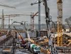 Složitá logistika dodávek betonu pro stavbu Ústřední čistírny odpadních vod v Praze