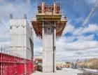 Rychlé odbednění a snadný posun s šachtovým rohem MAXIMO – Kancelářská budova Hexagon v Calgary