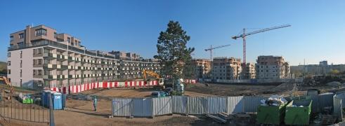 Obr. 8: Projekt Suomi Hloubětín na konci listopadu 2017