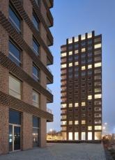 Westkaai towers 5 & 6 (Antverpy, Belgie), foto Filip Dujardin