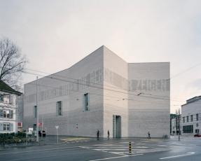 Rozšíření Uměleckého muzea v Basileji (Švýcarsko), foto Stefano Graziani