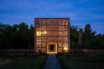 Terra Cotta Studio (Dien Phuong, Vietnam), foto Oki Hiroyuki