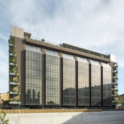 Hotel VIU – fasádní skla byla navržena pomocí služby Coating on Demand, foto AGC Glass Europe, © Jean-Michel Byl